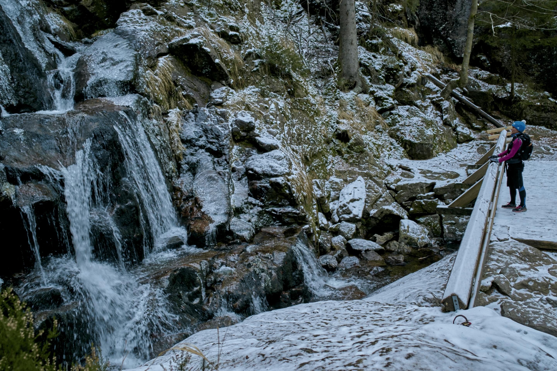 Rißlochfälle im Winter