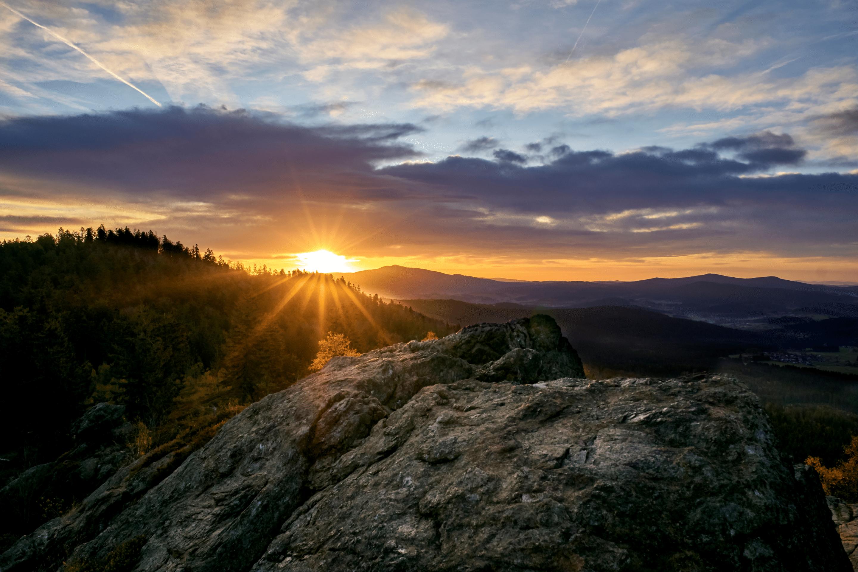 Sonnenaufgang am Silberberg