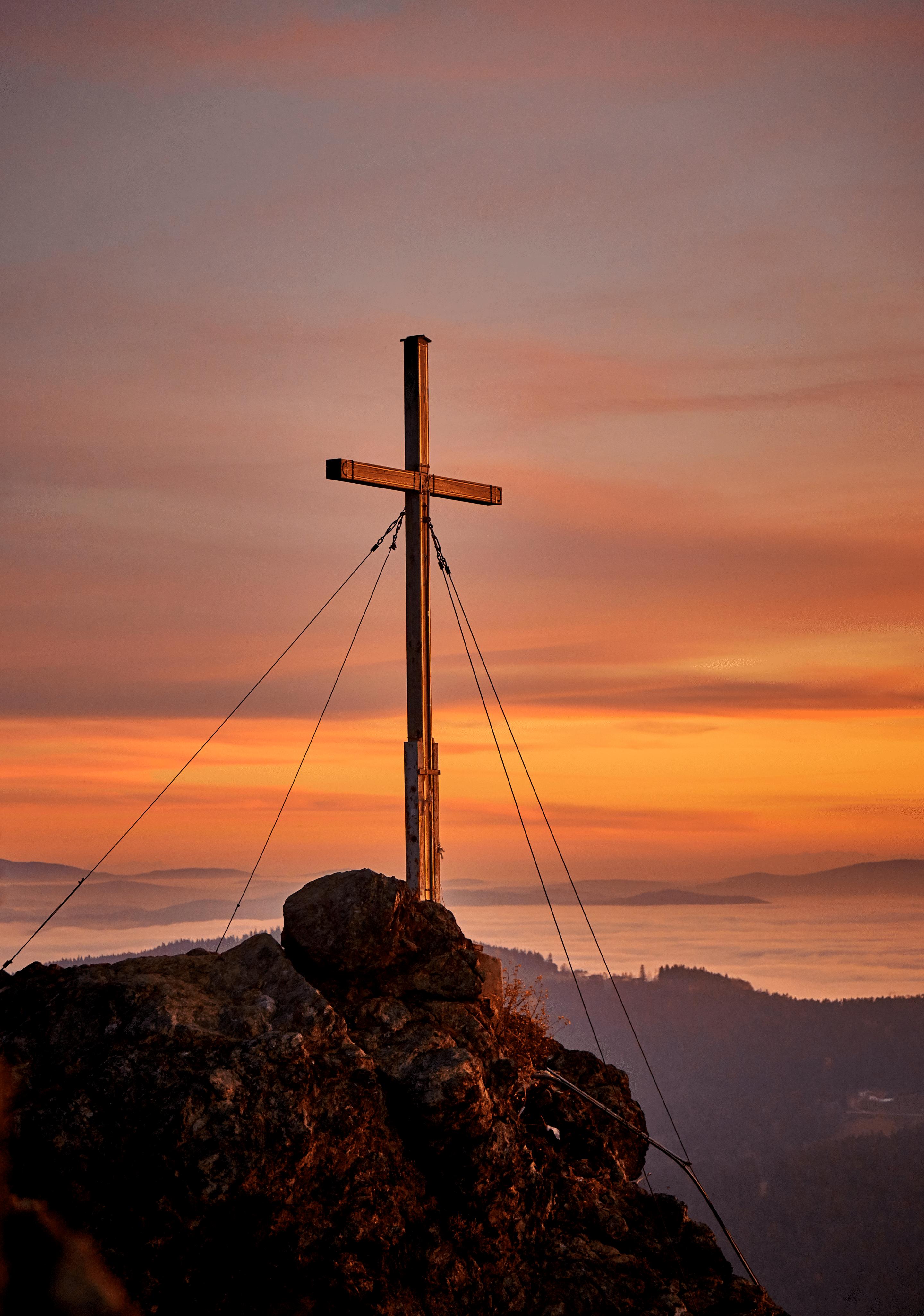 Sonnenuntergang am Silberberg